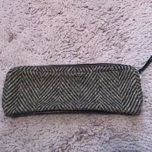 Kate spade wool bag makeup vintage